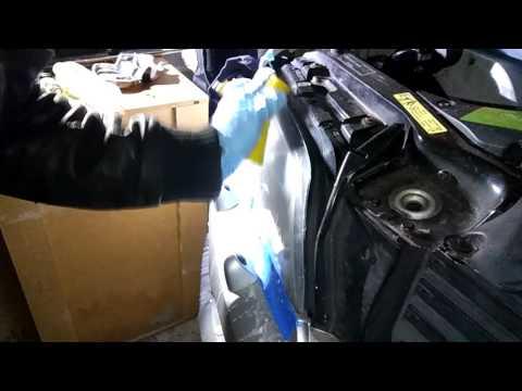Clean BMW headlights