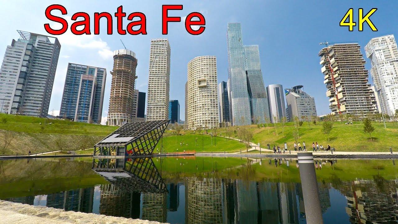 Skyline De Santa Fe Desde La Mexicana 4k Uhd Youtube