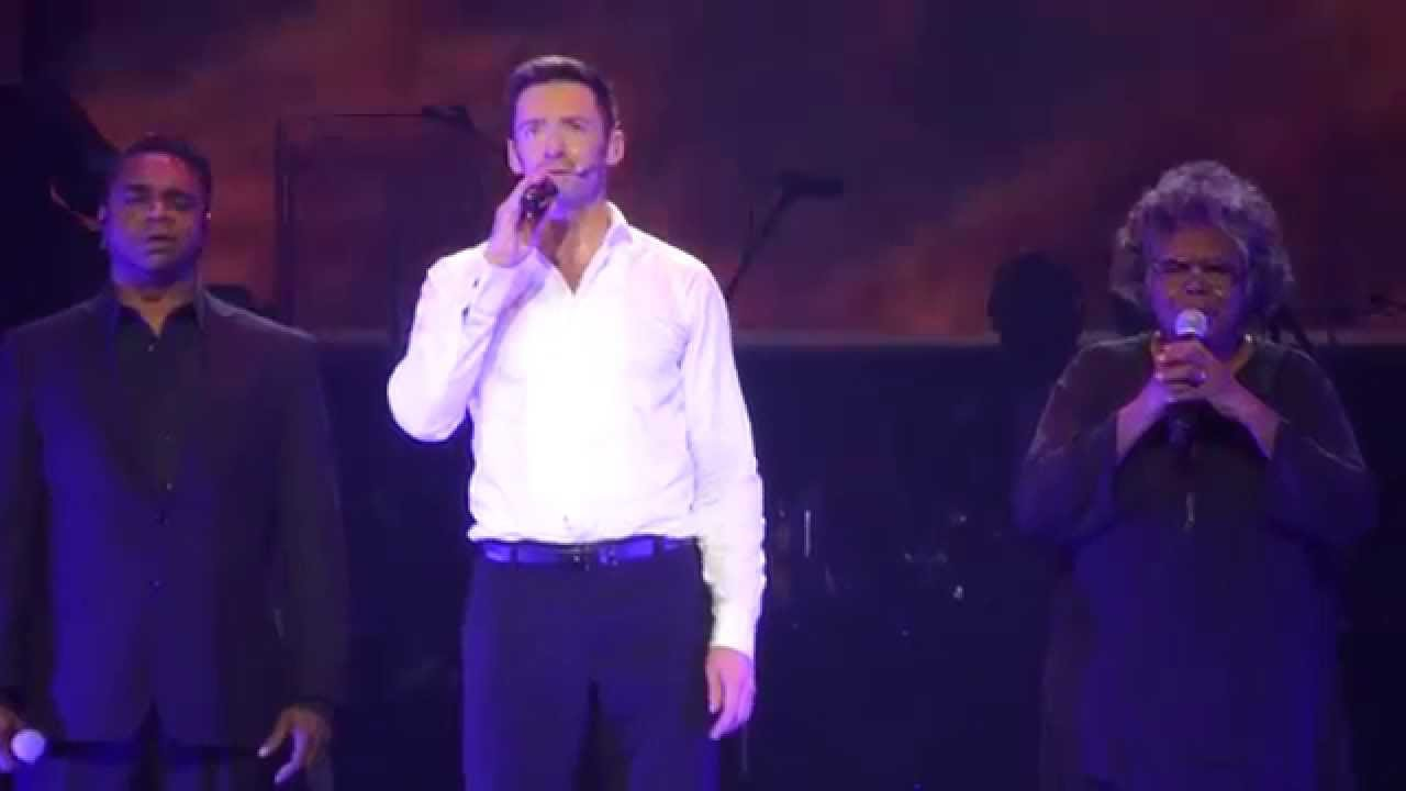 Hugh Jackman Somewhere Over The Rainbow Broadway To Oz 26 11 15 Rod Laver Arena Youtube