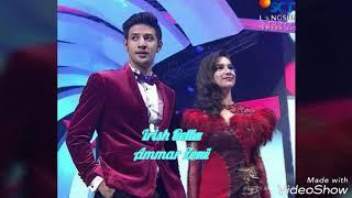 Walau msh terlihat malu2 !!!tp Sinyal2 cinta mulai terlihat dari Ammar zoni & irish bella..