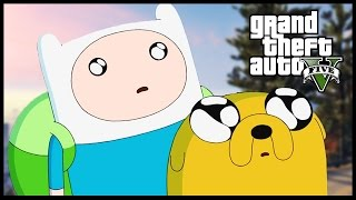 Adventure Time in Gta 5 !