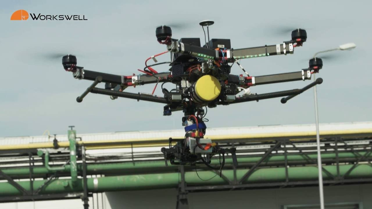 Industrial inspection with WIRIS - thermal imaging system for drones