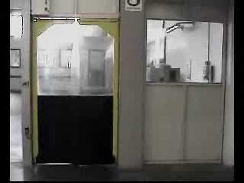 Flexible Doors - double-acting doors - Ocmflex.com & Flexible Doors - double-acting doors - Ocmflex.com - YouTube