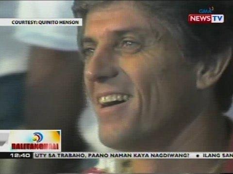 Dating Coach Ng PHL Nat'l Basketball Team Na Si Ron Jacobs, Pumanaw Na