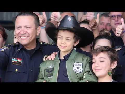 Abigail Arias Visits HPD | Houston Police