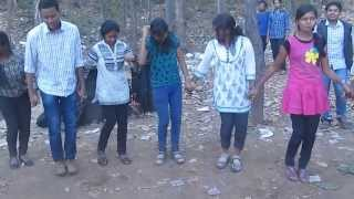 Repeat youtube video chain dance in nagpuri song at pitapali picnic-2014