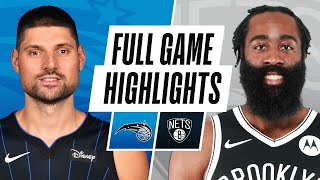 MAGIC at NETS | FULL GAME HIGHLIGHTS | January 16, 2021