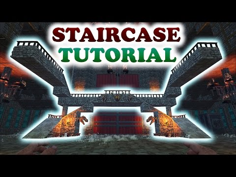 ARK | STAIRCASE TURORIAL | Building Tips and Tricks