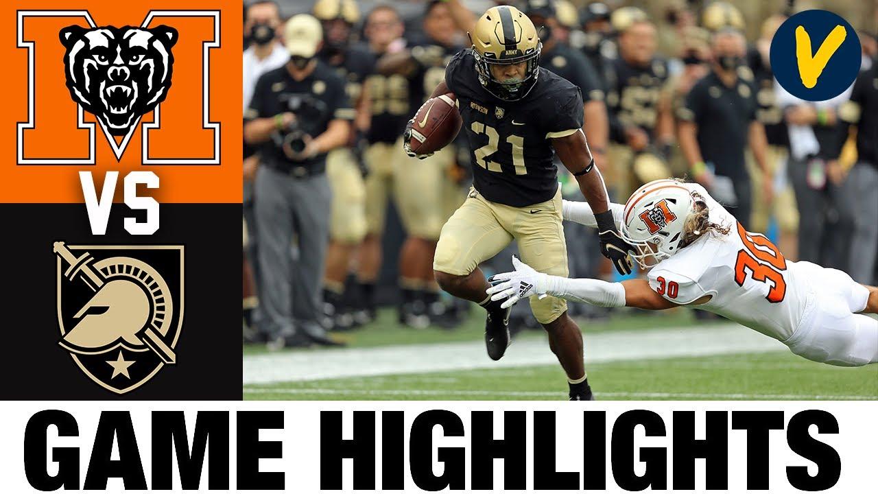 Mercer vs Army Highlights | Week 8 2020 College Football Highlights