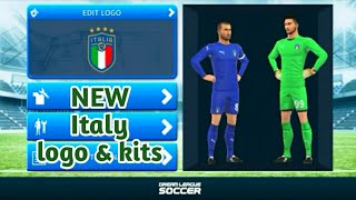 Italia Logo Dream League Soccer 2019 — ZwiftItaly