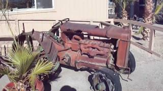 Old Trucks at Chiriaco Summit CA