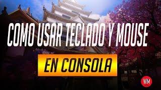 COMO UTILIZAR TECLADO Y MOUSE EN CUALQUIER CONSOLA | CUALQUIER JUEGO | Con prueba y gameplay |info