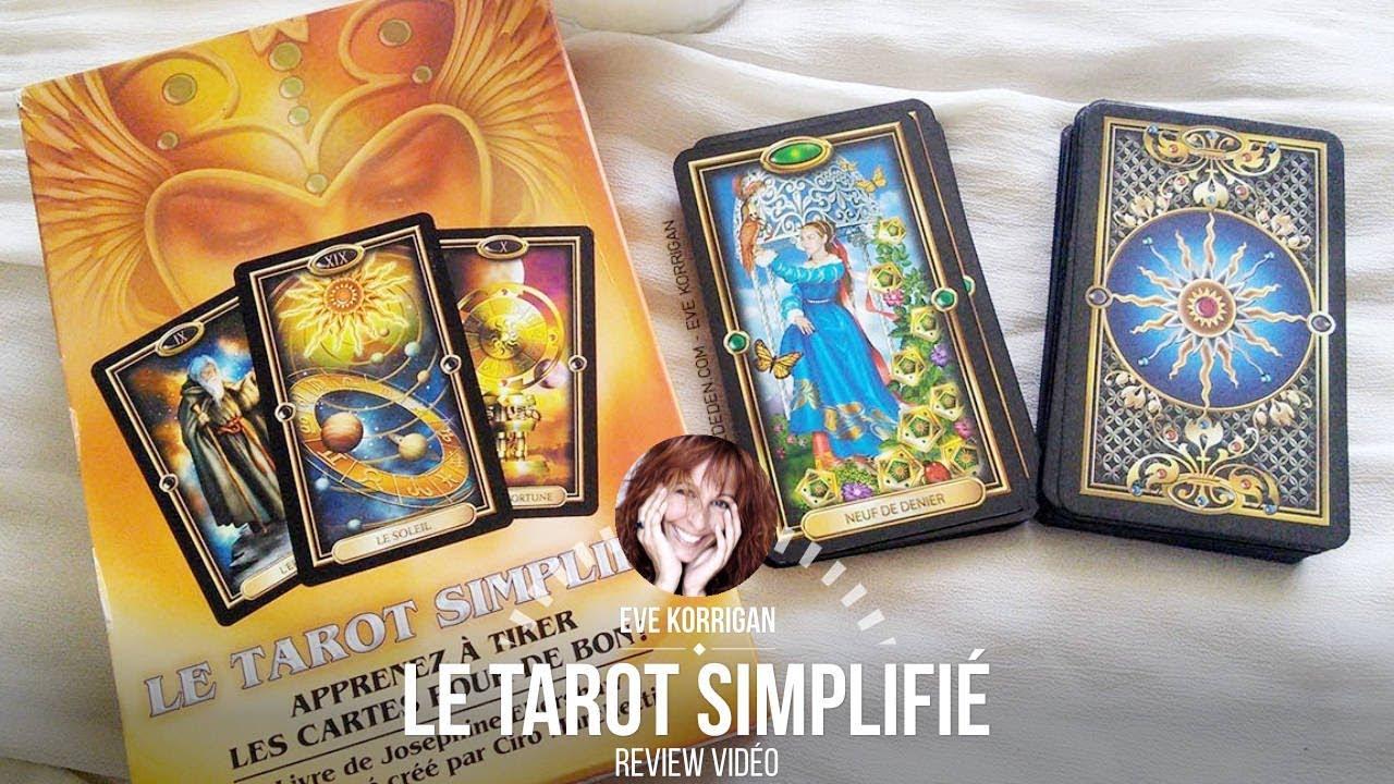 Review Le Tarot Simplifie Le Tarot Dore Youtube