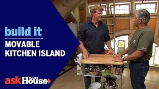 Watch the full episode: https://www.youtube.com/watch?v=qyUhWg1Rg3E Tom Silva shows how to fabricate a kitchen island out of