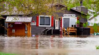 05-19-2020 Midland County, MI - MAJOR Flooding - Homes Inundated - Cars Stranded - Dams Failed