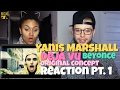 Yanis Marshall - Deja Vu (Beyonce) Original Concept Reaction Pt.1