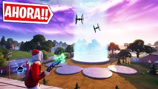 EVENTO STAR WARS AHORA NAVES EN CARRETES COMPROMETIDOS, EN DIRECTO FORTNITE !!