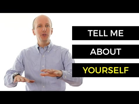 tell us about yourself examples dating