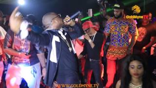 DAVIDO AND WIZKID PERFORM LIVE ON STAGE TOGETHER