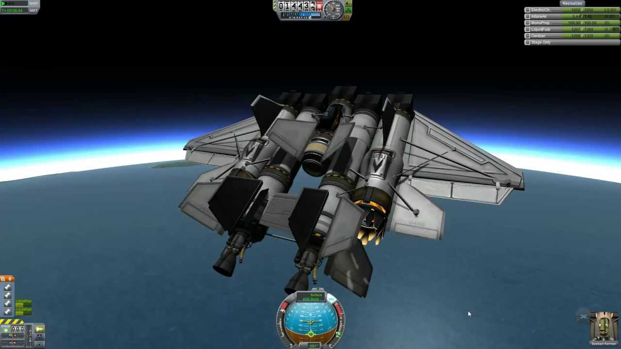 Kerbal Space Program, Space plane tutorial for our stupid ...
