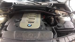 Замена воздушного фильтра на моторе M57TUD30 БМВ Х3 E83 Replacing air filter on 57 motor BMW X3 E83