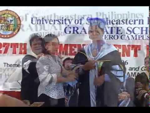 USEP – Masters & Doctorate Degree Batch 2006 – Graduation Ceremony – Part 1