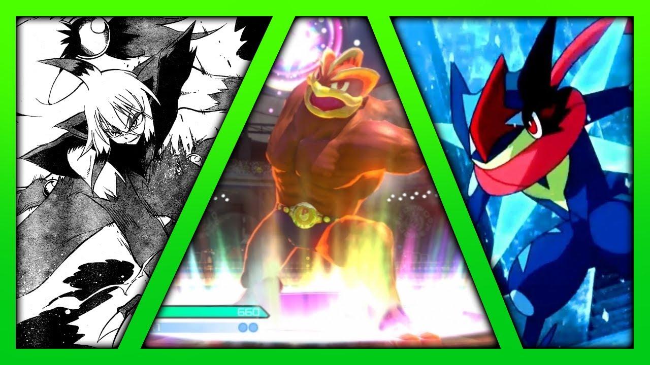 Pokémon - Every Mega Evolution Transformation - YouTube