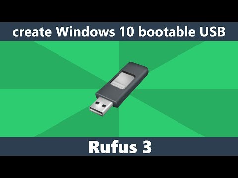 burn windows 10 iso to usb rufus 3.3