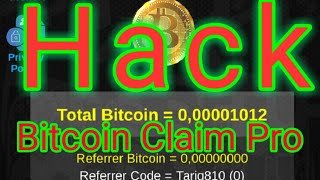 How to Hack Bitcoin Claim Pro App - Reall Trick - Earn Free BTC 2020 By TJ Tricks