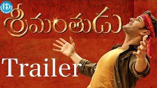 srimanthudu movie trailer mahesh babu shruti haasan devi sri prasad koratala siva