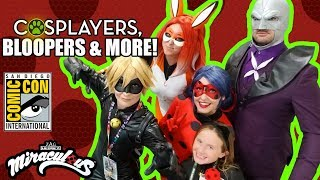MIRACULOUS | 🐞 SDCC 2018 w Lindalee pt III 🐞 | Tales of Ladybug and Cat Noir
