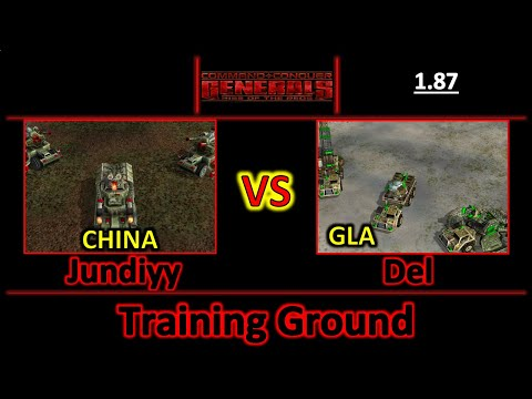 ROTR - Jundiyy Vs Del - China Vs GLA - Training Ground