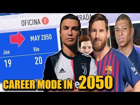 FIFA CAREER MODE IN 2050!!!