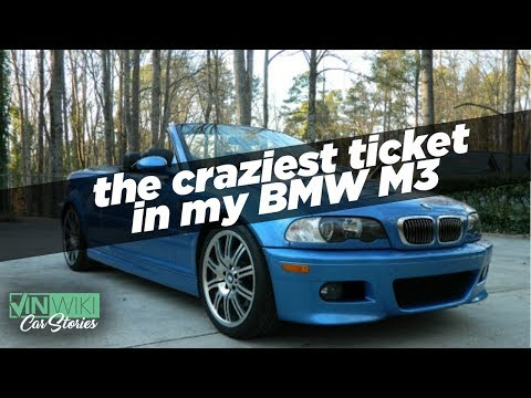 Owning BMW M cars and the craziest ticket I ever got
