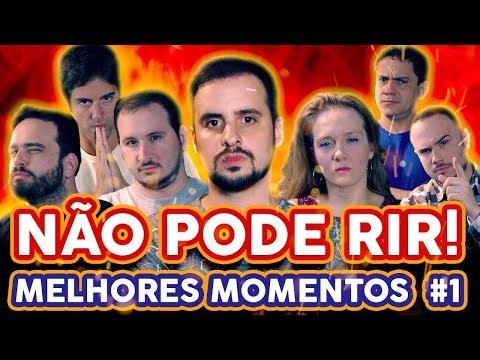 NÃO PODE RIR   MELHORES MOMENTOS 1 com Guilherme Briggs Manolo Rey Gaveta Diogo Portugal etc