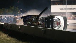 PRO STREET FIREBIRD CRASH - Tulsa Raceway Park