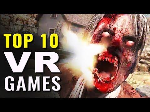 Top 10 Best VR Games | Oculus Rift, HTC Vive, PSVR Games