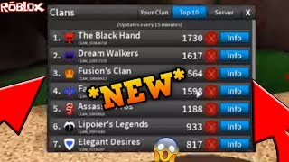 *NEW* CLANS ARE BACK ON ROBLOX?! *INSANE* (ROBLOX ASSASSIN THE RETURN OF CLANS ON ROBLOX!!!!)
