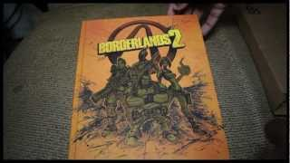 Borderlands 2 Limited Edition Strategy Guide Unboxing