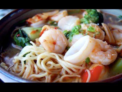 Fish Noodle Soup Bun Ca Nuc Fish Noodle Soup Recipe Fish Ball Noodle Soup Youtube