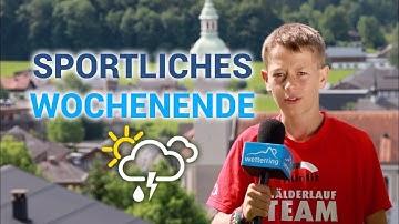 Angenehme Temperaturen beim Wälderlauf, Regional-Wetter Vorarlberg 20.06.2019