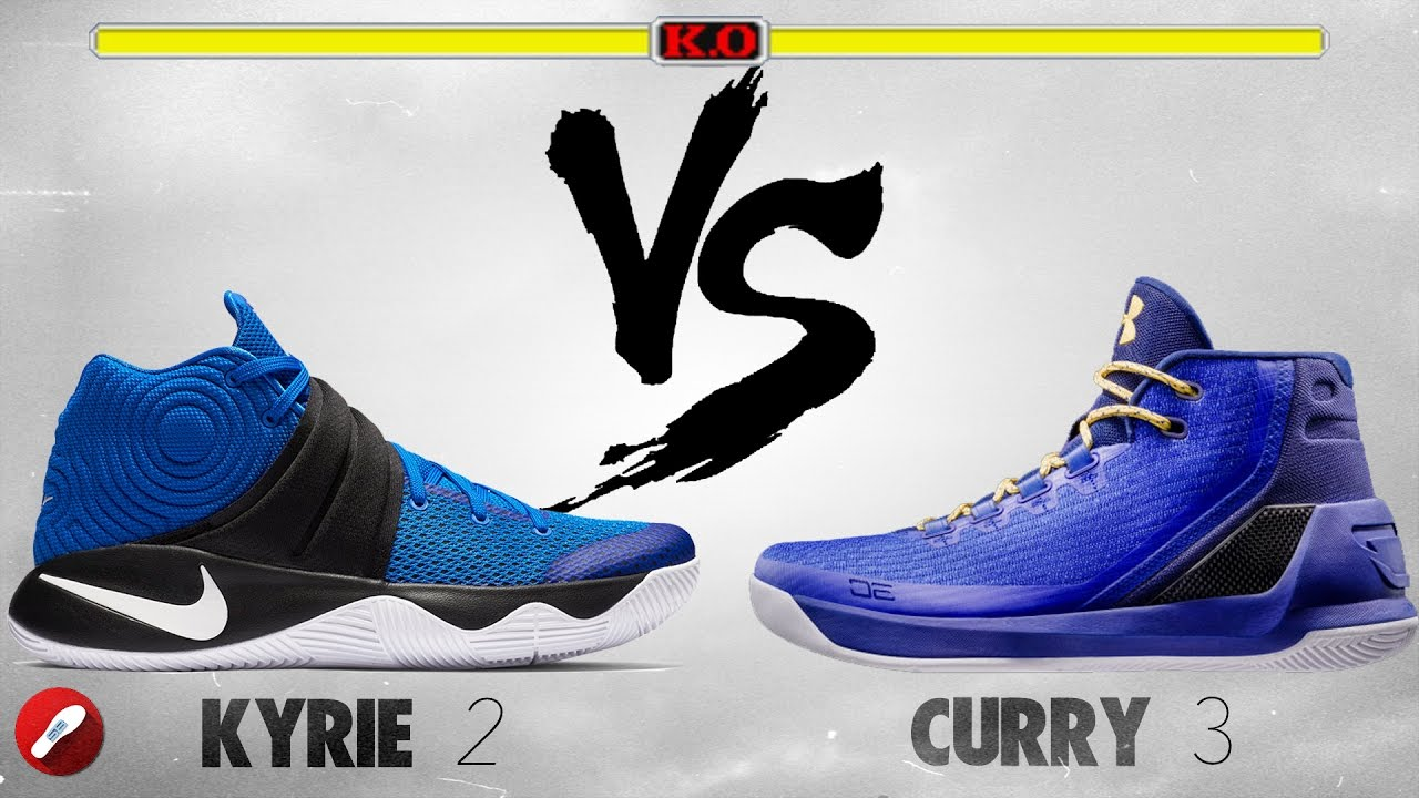 839c275e007 ... sale nike kyrie 2 vs under armour curry 3 youtube 4b5be 64466