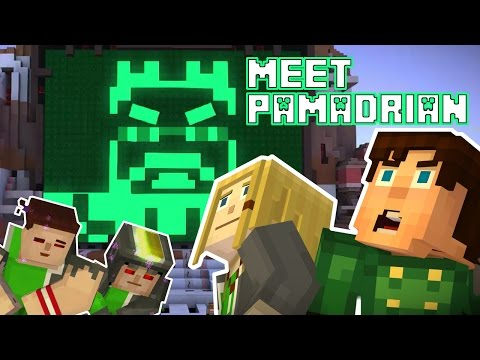 Play as Nell - Meet Hadrian PAMA ! Minecraft Story Mode Episode 7