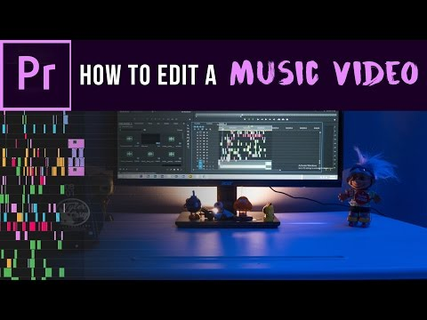 How to edit a Music Video- Organize, Sync, and Cut (Adobe Premiere Pro CC)