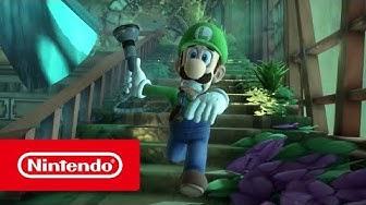 Luigi's Mansion 3 – Übersichtstrailer (Nintendo Switch)