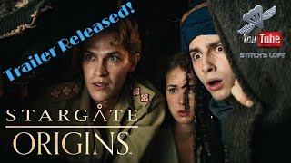STARGATE  ORIGINS TRAILER RELEASED