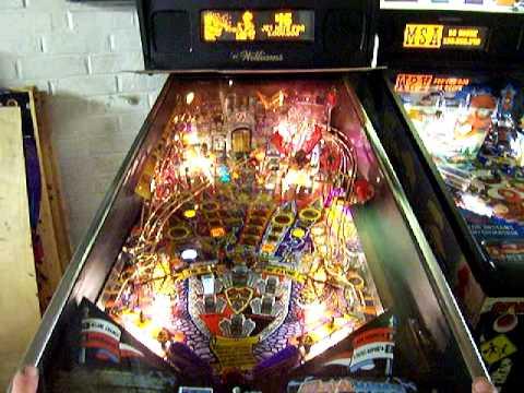 Medieval Madness Pinball Machine Youtube