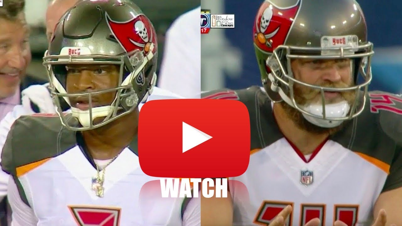 Jameis who? Ryan Fitzpatrick plays out of his mind in Bucs' upset win
