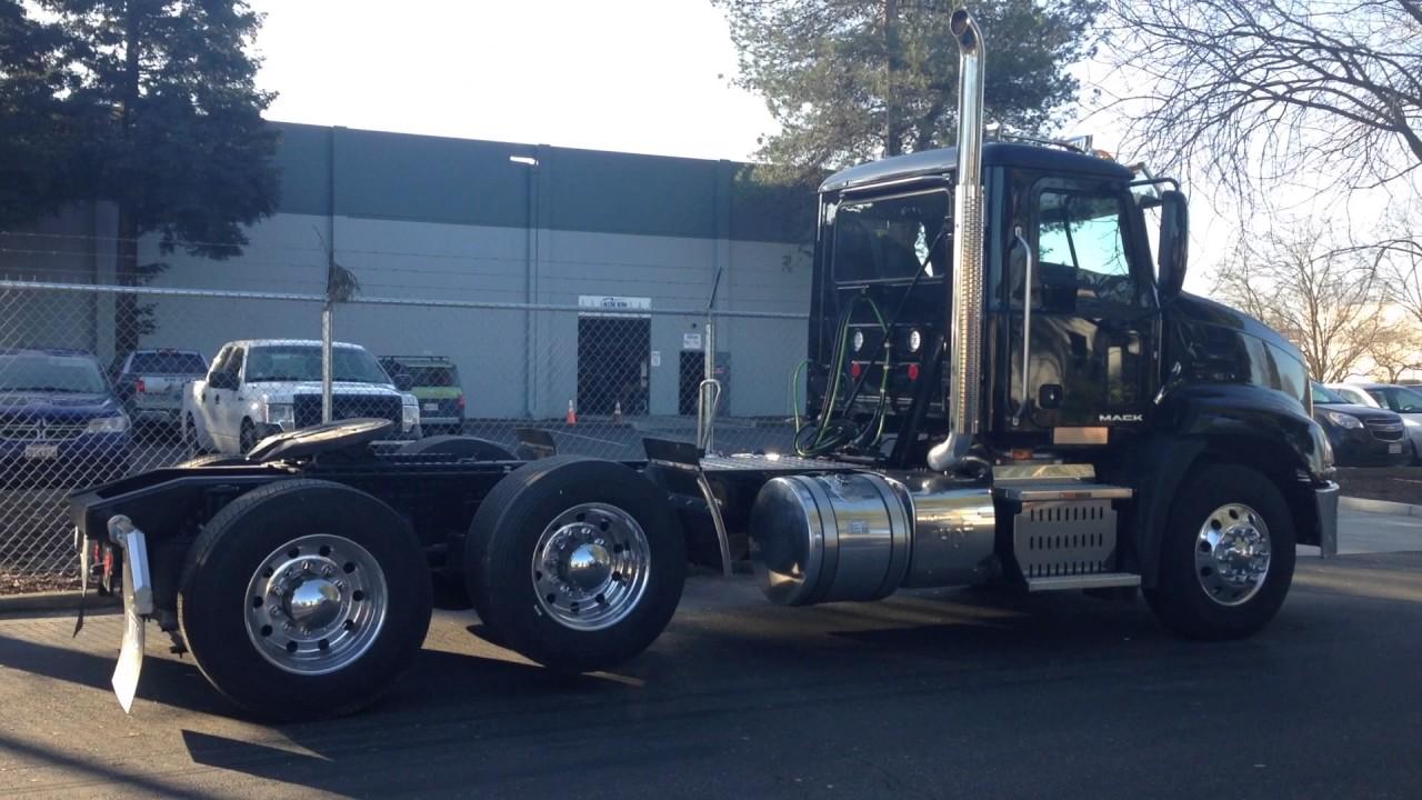 mack cxu 613 lift axle mack trucks sacramento [ 1280 x 720 Pixel ]