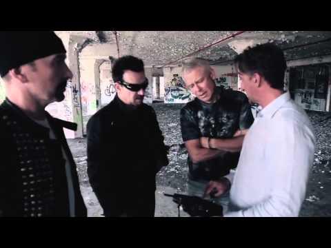 Behind the scenes on U2